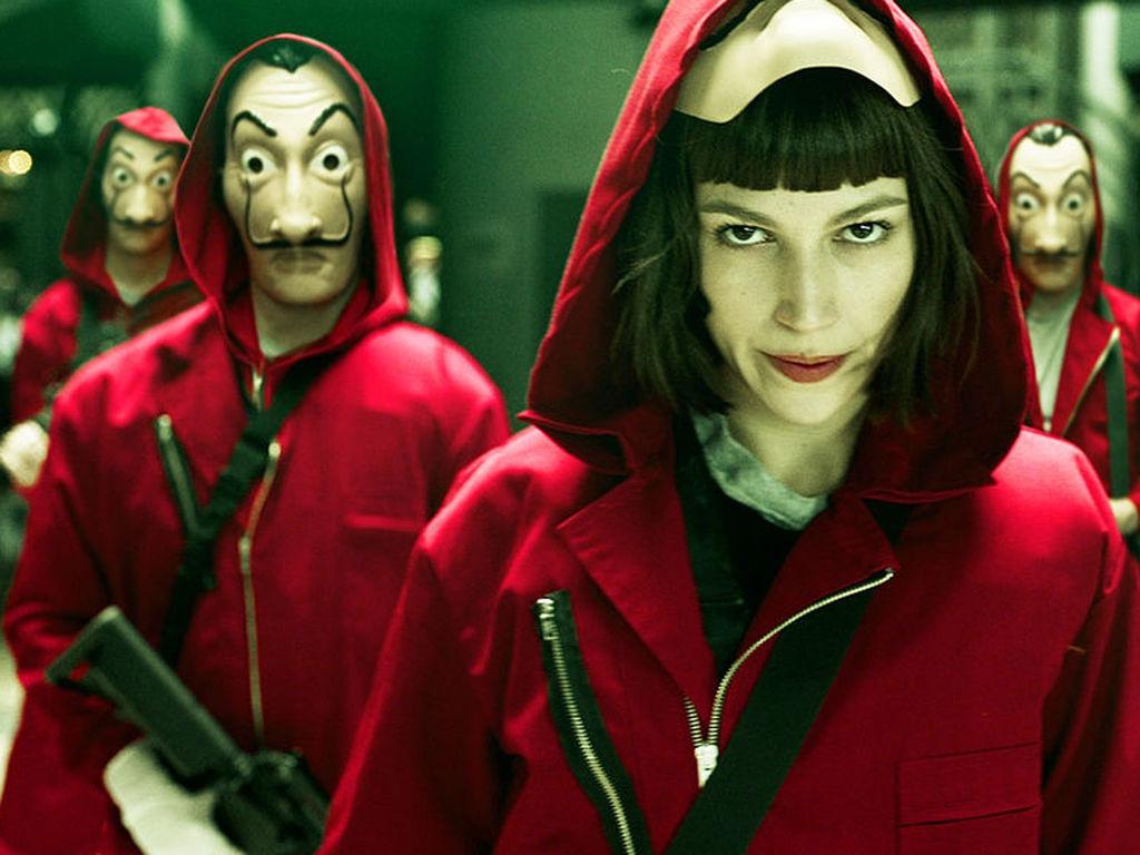 La Casa de Papel, la nouvelle sensation espagnole signée Netflix. © Netflix